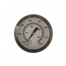 800F Stainless Steel Barbecue BBQ Charcoal Grill Wood Smoker Temperature Gauge thermometer